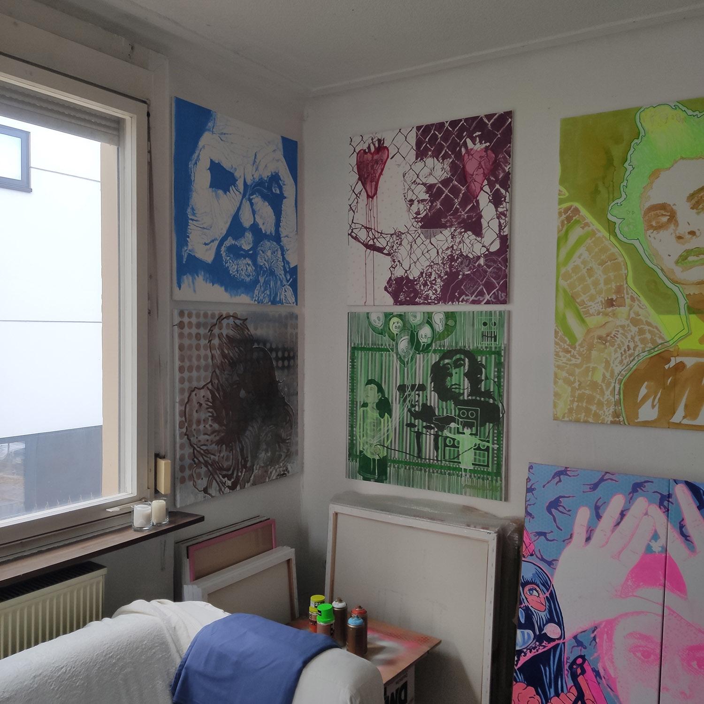 Atelier-Impressionen
