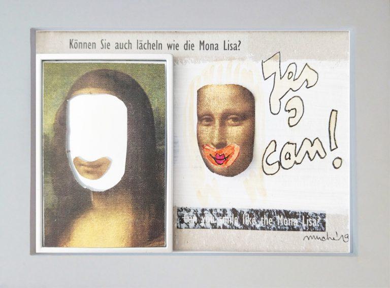 Können Sie auch lächeln wie die Mona Lisa?